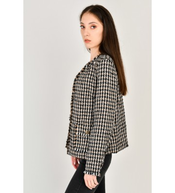 Veste façon tweed Katty